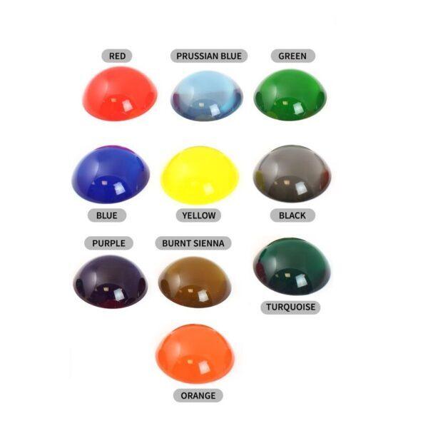 Transparent Färgämne epoxy (Utgår, REAS)