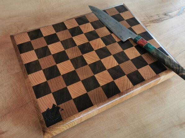 Skärbräda schack med ram