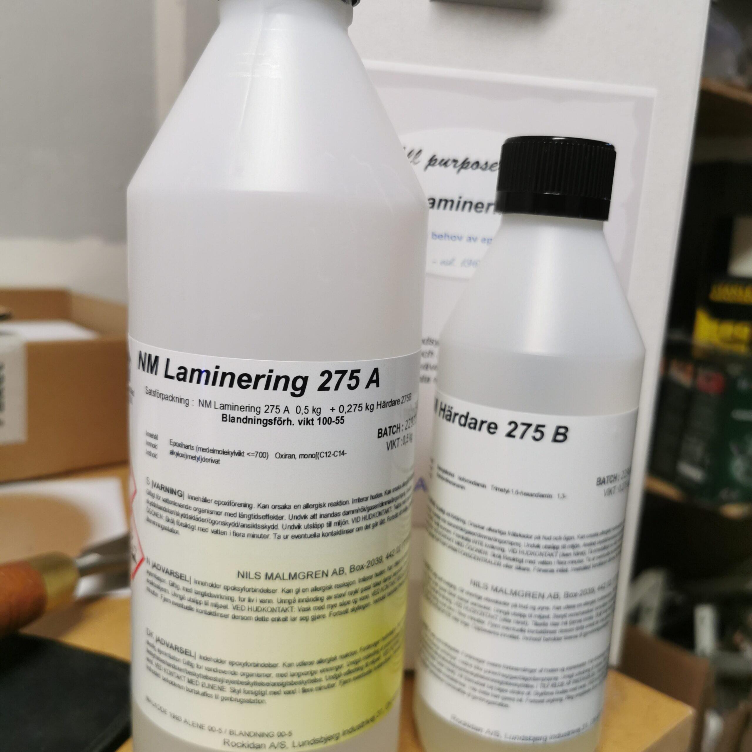 NM 275 Lamineringsepoxy (sprickfyllning och coating)