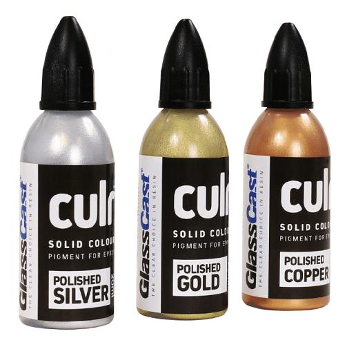 Högkoncentrerat epoxyfärgämne  Opakt (metallic)